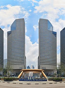 Suntec City office towers aei